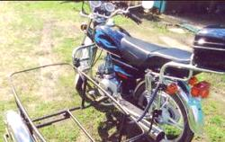 Přívěs Moped